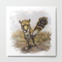 CAT, Gimme Five Thylacosmilus Metal Print