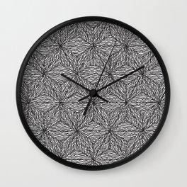 Cuben Wavey 2 Wall Clock