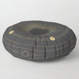 Vintage Solar System Floor Pillow
