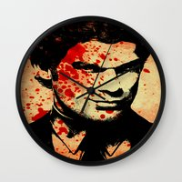 dexter Wall Clocks featuring Dexter by 2b2dornot2b
