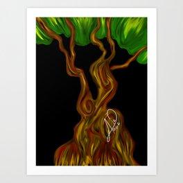 Arbol 003 Art Print