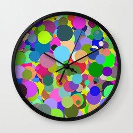 Circles #6 - 03112017 Wall Clock