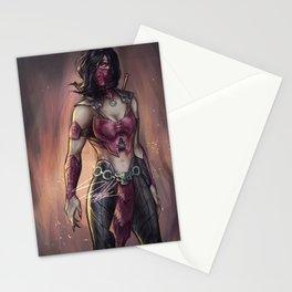 Empress Mileena Stationery Cards