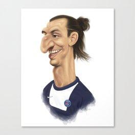 Ibrahimovic - PSG Canvas Print