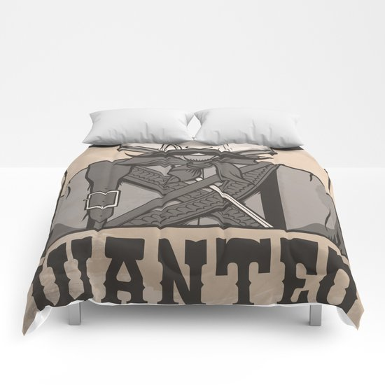 WANTED: SENOR UNDERPANTS Comforters