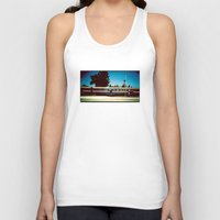 train Tank Tops featuring Train by Ibbanez