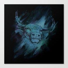 Calm Taurus Canvas Print
