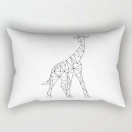 Geometric Giraffe Rectangular Pillow