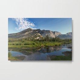 Mountain River Photo Metal Print