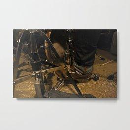 DrumMess Metal Print