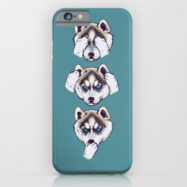 No Evil Husky iPhone Case