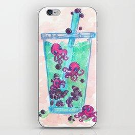 Octopi Boba Tea iPhone Skin