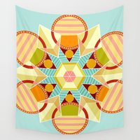 indie Wall Tapestries featuring Indie Star by chloeeegee