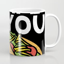 I'm Love With The Shape Of You Motif Coffee Mug