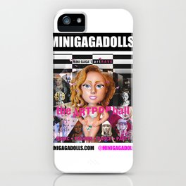 artRAVE minigadolls iPhone Case