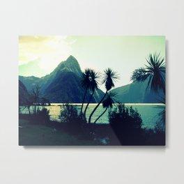 Milford Sound Metal Print
