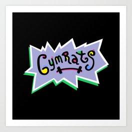 Gym Rats Art Print