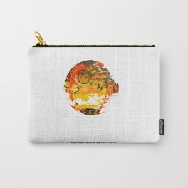 """A """"that's no Moon"""" shaped pool (II) Carry-All Pouch"""