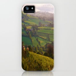 Early Morning Glory iPhone Case