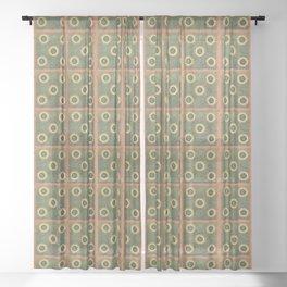 Grandmas Afghan Summer Sheer Curtain