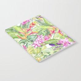 Tropical Garden 1A #society6 Notebook