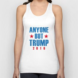 Anyone But Trump Unisex Tank Top