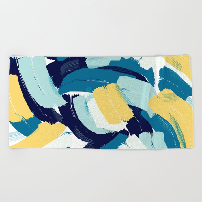 Abstract painting 111 Beach Towel