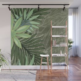 A Run Through the Jungle Wall Mural