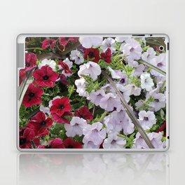 Cascade Of Petunias Laptop & iPad Skin