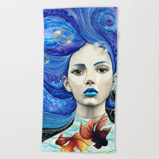 Galaxsea Beach Towel