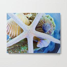 All the Colors of the Sea Metal Print
