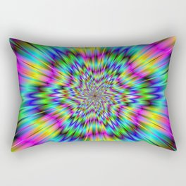 Rainbow Star Rectangular Pillow