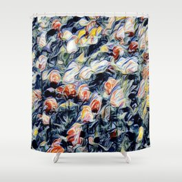 Holland Tulips Shower Curtain