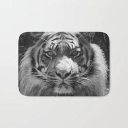 The eye of the tiger Bath Mat