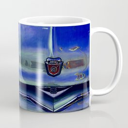 Ford 8 Classic Truck Art - Twilight Blue Coffee Mug