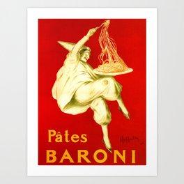 Pasta Baroni Leonetto Cappiello Art Print