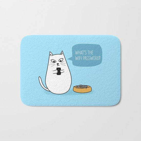 Wifi Cat Bath Mat