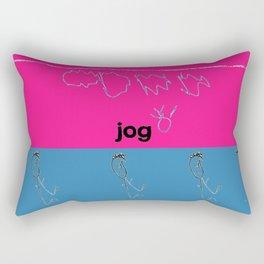 Jog Rectangular Pillow
