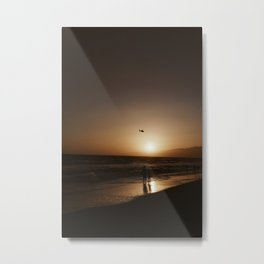 CHILL VIBES Metal Print