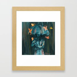Six Improbable Fortuities Framed Art Print