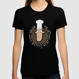 Never Trust A Skinny Chef - Funny Chef Quote Gift T-shirt