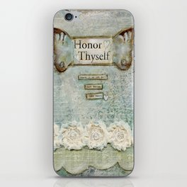 honor thyself iPhone Skin