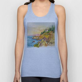 Acadia National Park Unisex Tank Top