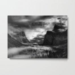 Dark Tunnel Metal Print