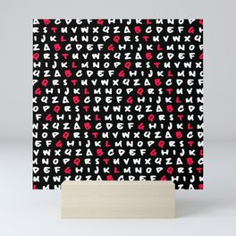 Abc's Mini Art Print