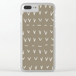 TALLY Clear iPhone Case