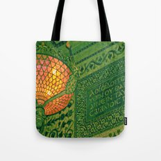 Chicago Cultural Center ~ architecture tiffany lamp detail Tote Bag