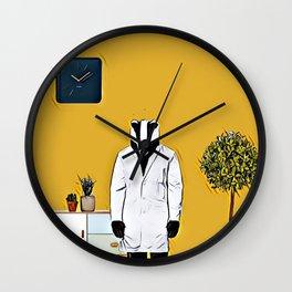 Doctor badger Wall Clock