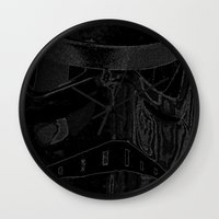 trooper Wall Clocks featuring Trooper by halx