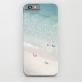 Beach Love 2  (part of a diptych) iPhone Case